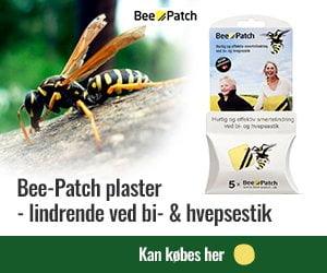 Bee-Patch mod hvepsestik